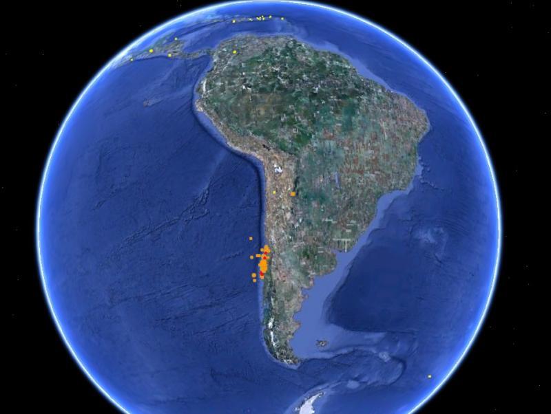 map of haiti earthquake epicenter. the earthquake epicenter